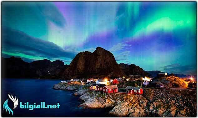 kuzey-isiklari;norvec-kuzey-isiklari;kuzey-isiklari-nerede-gorulur;kuzey-isiklari-nedir;kuzey-isiklari-nasil-olusur