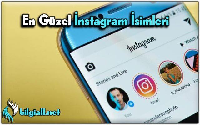 instagram-isimleri