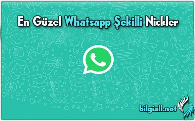 whatsapp-şekilli-nick