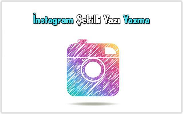 instagram-şekilli-yazı