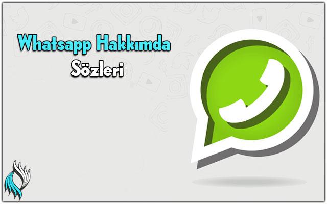En Güzel Whatsapp Hakkımda Sözleri
